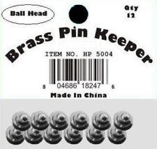 ( 24 Pieces ) Pin Keepers backs Locks Locking (Ball Head Silver)
