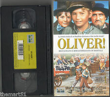 OLIVER ! (1968) VHS Columbia Video   Ron Moody - Restaurato - 6 Oscar - Unico