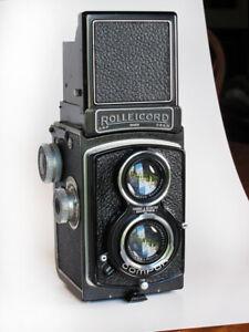 Rolleicord ll Type 3 Twin Lens Reflex Camera Germany c.1938
