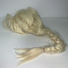 Frozen Elsa Princess Girls Wig Long Blonde Braid Halloween Costume Dress Up Play