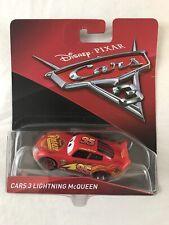 Disney Pixar Mattel Cars 3 Lightning Mcqueen Diecast Racer In Original Package