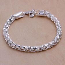 Armband Sterlingsilber 925 königsarmband Herren Damen 20cm 6 mm b2
