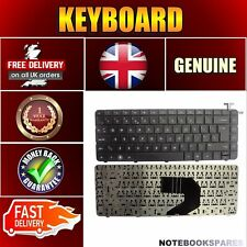 Laptop Keyboard UK Layout for HP COMPAQ PRESARIO CQ57-301Black