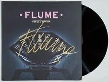 FLUME DJ SIGNED FLUME DELUXE LP ALBUM VINYL RECORD W/COA EDM