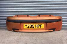 Mk2 Fiat Punto *99-2003* Genuine Sporting Rear Bumper In Orange 571 (FreeP&P)