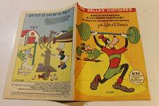 LES BELLES HISTOIRES DE DISNEY 85 fevrier 1961  MICKEY HARPAGON a t il perdu son