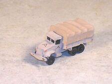N Scale 2 1/2 Ton Tan GMC Military Cargo Truck