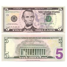 United States USA 5 Dollars 2009 P-531 Banknotes UNC