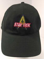Star Trek Black To Boldly Go Hat Adjustable One Size $20 MSRP