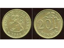 FINLANDE 20 pennia 1984