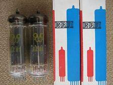2x EZ81  ( 6CA4 )  rectifier tubes  RFT ( TELEFUNKEN / SIEMENS )  - NOS - EZ 81