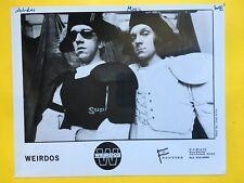 The Weirdos Press Photo 8x10�, Frontier Records