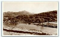 Vintage Picture Postcard Entrance to the Pass of Aberglaslyn North Wales