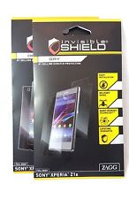 ZAGG Sony Xperia Z1S Invisible Shield Dry Full Body Screen Protector Film OEM