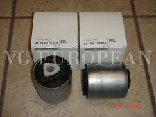 BMW E70 X5 E71 X6 Genuine Front Control Arm Bushing Set 3.0si 4.8i 35ix 50ix NEW