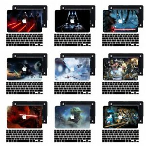 2in1 Star Wars Rubberized Hard Case Cover For New Macbook Pro Air 11 12 13 15 16
