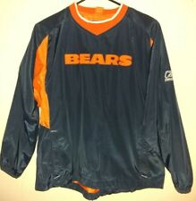Reebok Chicago Bears Football Windbreaker Jacket Boys Youth Size Medium (10/12)
