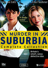 Murder in Suburbia: Complete Collection (DVD, 2014, 4-Disc Set)