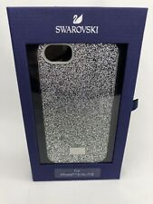 Swarovski High Silver Glitter Crystal iPhone 6 6s 7 8 Case Integrated Bumper