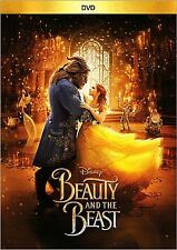 BEAUTY AND THE BEAST(DVD,2017) Disney Family Romance Movie, BRAND NEW!!