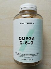 omega 3-6-9 myprotein 120 capsules