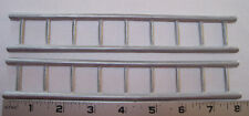 Structo fire truck pair of 9 rung cast metal ladders