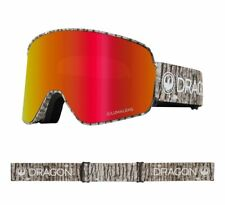 Dragon NFX2 Blizzard Lumalens Red Ion Lumalens Amber Snow Goggle NIB 2019