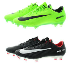 Nike 831958 Mens Mercurial Vapor XI Firm Ground Low Top Soccer Cleats Shoes