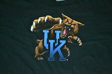 University Of Kentucky Wildcats Retro Cartoon Cat T Shirt 4XL XXXXL