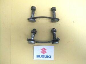 SUZUKI GS125 GS 125 D REAR WHEEL SPROCKET BOLTS AND BRACKETS 1982 - 1987