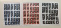 James Cauty SMC-L13 gallery numbered 21/131 1st 2nd 3rd stamp sheet Dismaland.
