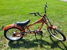 Rare Adult Schwinn OCC Sting Ray 3 Speed On Floor Orange Chopper Fat Tire Bike