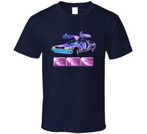 Delorean Motors Company DMC Retro Vintage Classic Car T Shirt