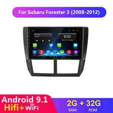 """9"""" Car Android 9.1 Stereo for Subaru Forester Radio DVD GPS Navi Head Unit 08-12"""