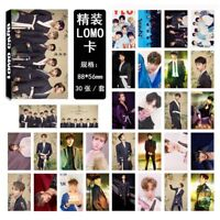 NEW 30pcs set Kpop VIXX Collective Personal Photo Picture Poster Lomo Card