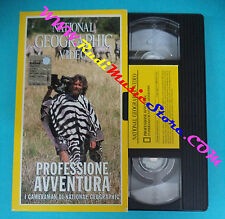 VHS film PROFESSIONE AVVENTURA 2000 NATIONAL GEOGRAPHIC VIDEO (F39*) no dvd