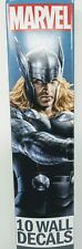 "Marvel Large Thor 23"" x 27"" Interactive Augmented Wall Decals W/ 9 bonus Decals"