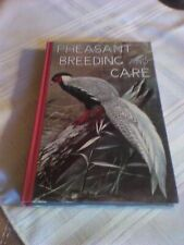 Pheasant Breeding and Care by Jean Delacour (1959) egg hatching