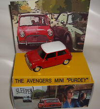 """THE AVENGERS EPISODE """"SLEEPER"""" PURDEY´S MINI MOVIE CAR IN DINKY BOX WITH DISPLAY"""