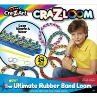 Cra-z-Loom 17113 The Ultimate Rubber Band Loom Creative Playset
