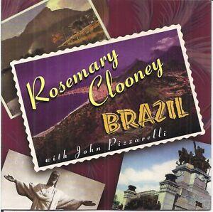 Rosemary Clooney with John Pizzarelli - Brazil (2000) CD