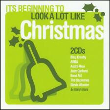 CHRISTMAS (2 CD) ABBA~BING CROSBY~ANDRE RIEU~TIN LIDS~BURL IVES~SUPREMES + *NEW*