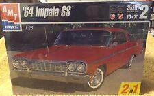 VINTAGE MODEL KITS--1964 CHEVY IMPALA SS--AMT/ERTL KIT--VERY NICE--1/25 SCALE