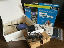LINKSYS WET11 2.4GHz 802.11b Instant Wireless-B Series Ethernet Bridge