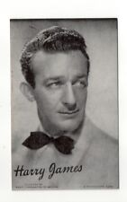Harry James 1940's-50's Mutoscope Music Corp of America Arcade Card Postcard