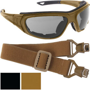 Tactical Goggles Sunglasses Interchangeable Optical System Eyewear Protection