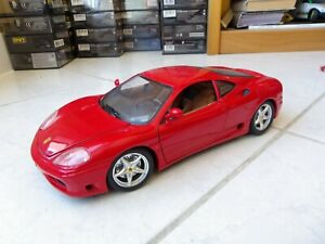 Ferrari 360 Modena 1999 Red 1/18 Bburago Burago Miniature