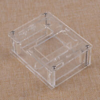 Clear Acrylic Case Shell Fit For GM328 Transistor Tester Diode LCR ESR Meter ut