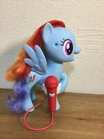 My Little Pony Shining Friends Rainbow Dash Figure with working microphone 20cm