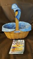 Longaberger 2000 CENTURY CELEBRATION CHEERS Basket Fabric Liner & Protector